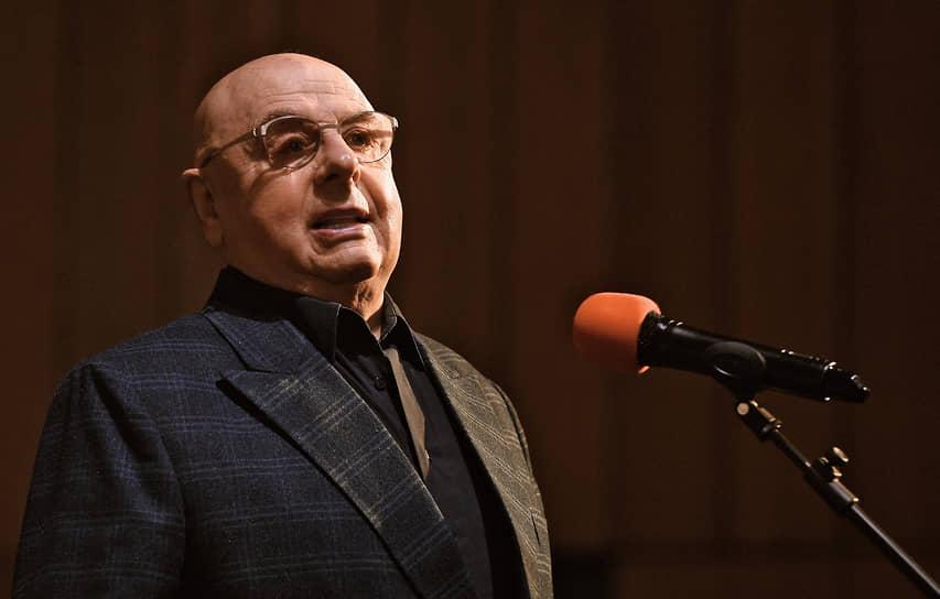 Церемонию прощания вел актер и друг Бориса Грачевского Владимир Долинский