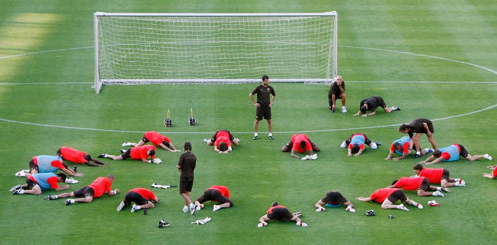 В 2007 году Гвардиола возглавил дубль «Барселоны» (клуб «Барселона Атлетик»), который выступал в третьем испанском дивизионе