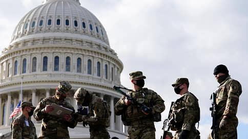 Штаты отгораживаются от протестующих