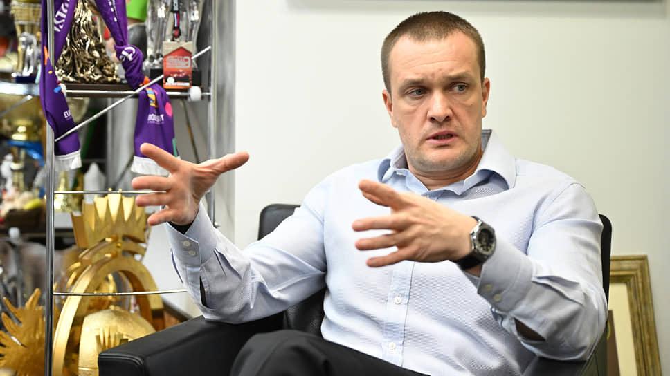 Генеральный директор баскетбольного клуба ЦСКА Андрей Ватутин