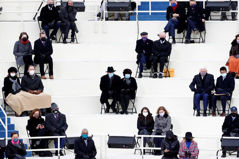Вашингтон, США. Гости церемонии инаугурации 46-го президента Джо Байдена