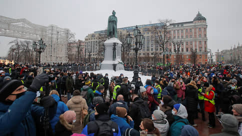 Как проходят акции в поддержку Алексея Навального // Онлайн-трансляция: в разных городах задерживают сторонников оппозиционера