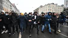 Шествие по Страстному бульвару в Москве