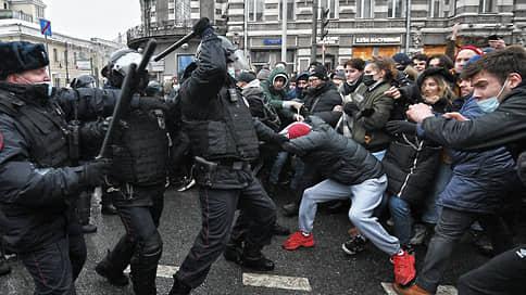 """«Куда вы все идете? Чего вы все хотите?» / Корреспонденты """"Ъ""""— с акции протеста в Москве"""