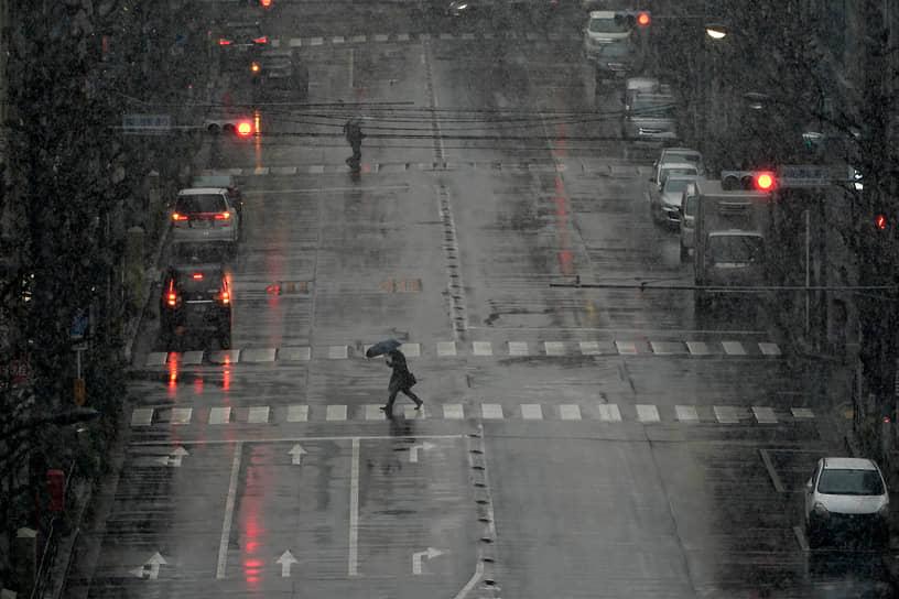 Токио, Япония. Пешеходный переход