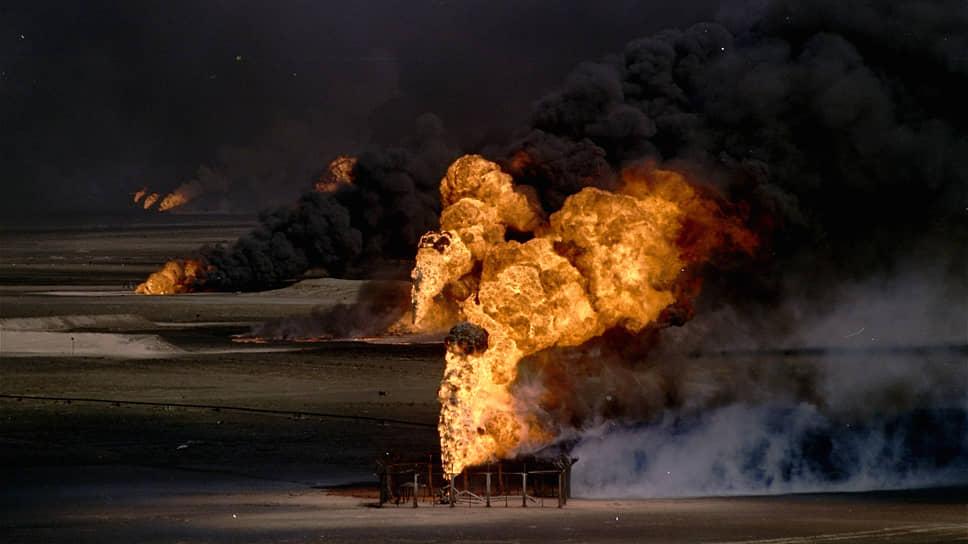 На долю кувейтских нефтяных пожаров 1991 года приходится около половины всех пожаров в истории нефтяной промышленности