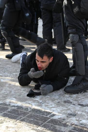 Акция протеста в Челябинске
