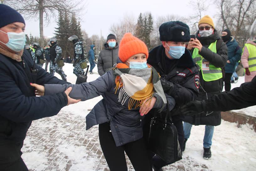 Акция протеста в Уфе