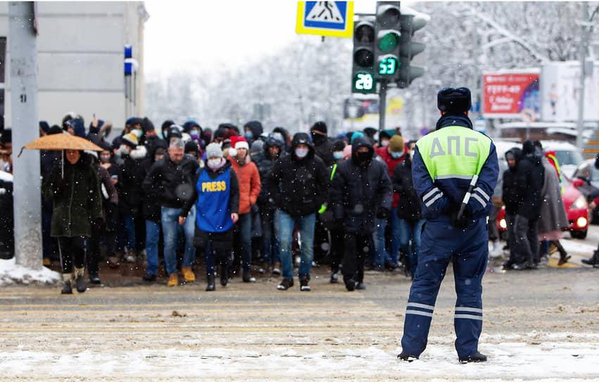 Акция протеста в Калиниграде