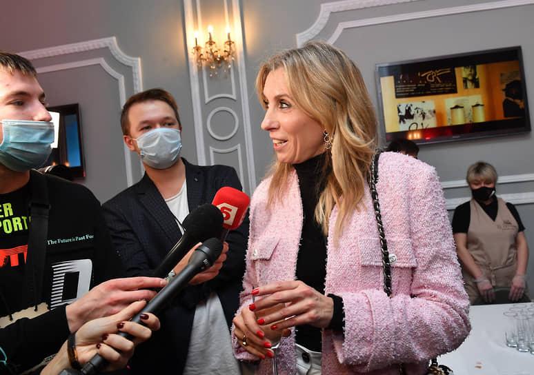 Главный редактор журнала «Hello!» Светлана Бондарчук на премьере фильма «Кто-нибудь видел мою девчонку?»