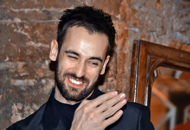 Актер Риналь Мухаметов во время праздничного вечера в честь 8-летия «Гоголь-центра»