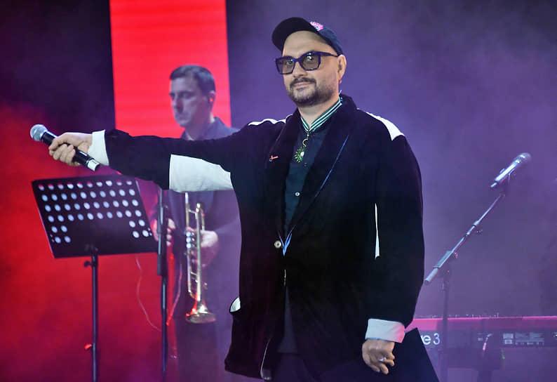Режиссер Кирилл Серебренников во время празднования 8-летия «Гоголь-центра»