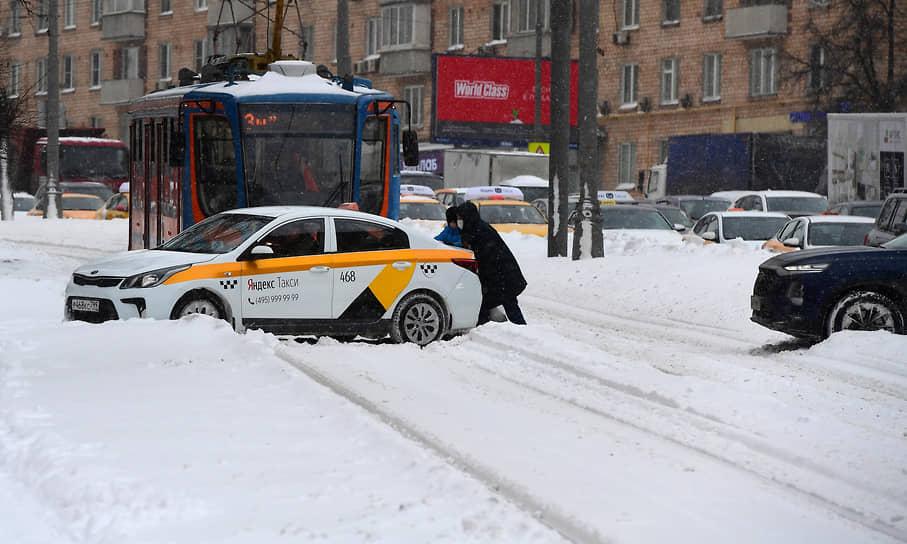 Виды на улицы Москвы