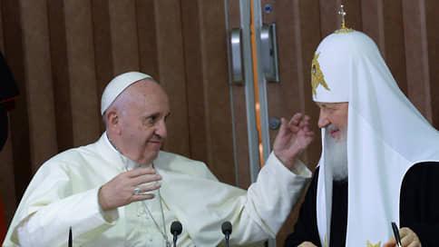 Православные и католики поговорили предстоятельно  / Пять лет назад папа римский Франциск и патриарх Кирилл встретились в Гаване
