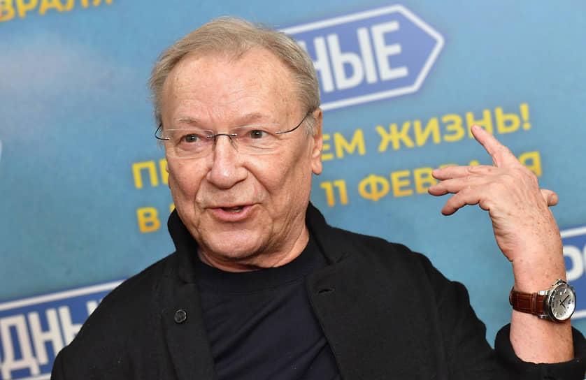 Актер Сергей Шакуров на премьере фильма Ильи Аксенова «Родные»