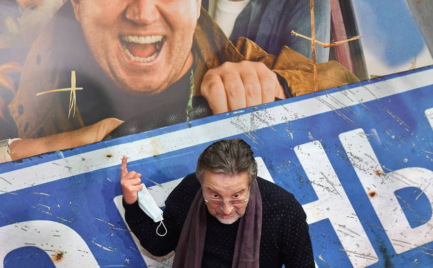 Актер и продюсер Леонид Ярмольник на премьере фильма Ильи Аксенова «Родные»