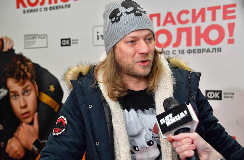 Музыкант Роман Архипов на премьере фильма Дмитрия Губарева «Спасите Колю!»