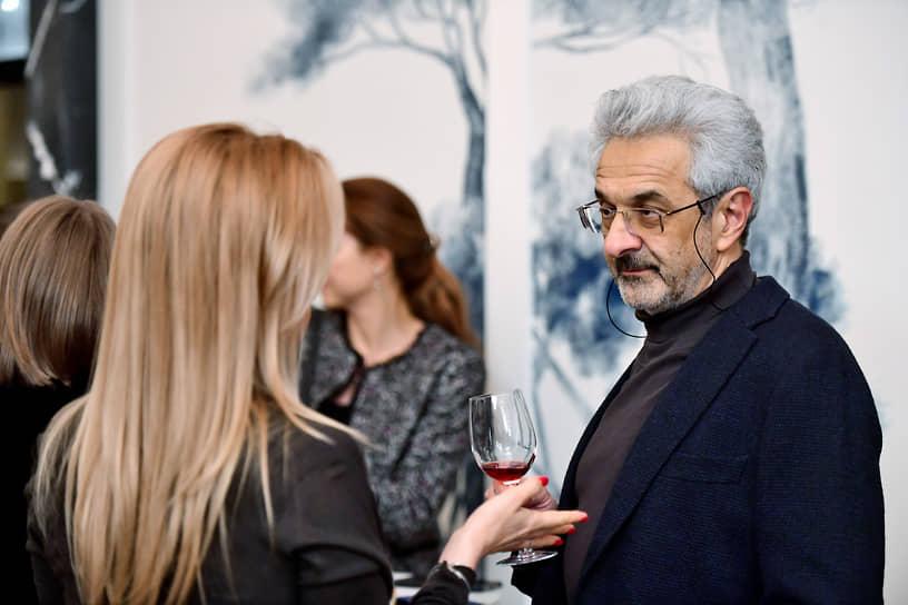 Психолог Александр Колмановский (справа) на премьере документального фильма «Крепость»