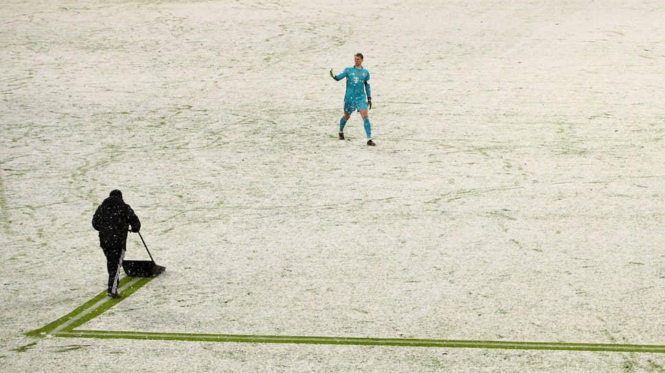 Мюнхен, Германия. Футбольный матч бундеслиги между «Баварией» и «Арминией»