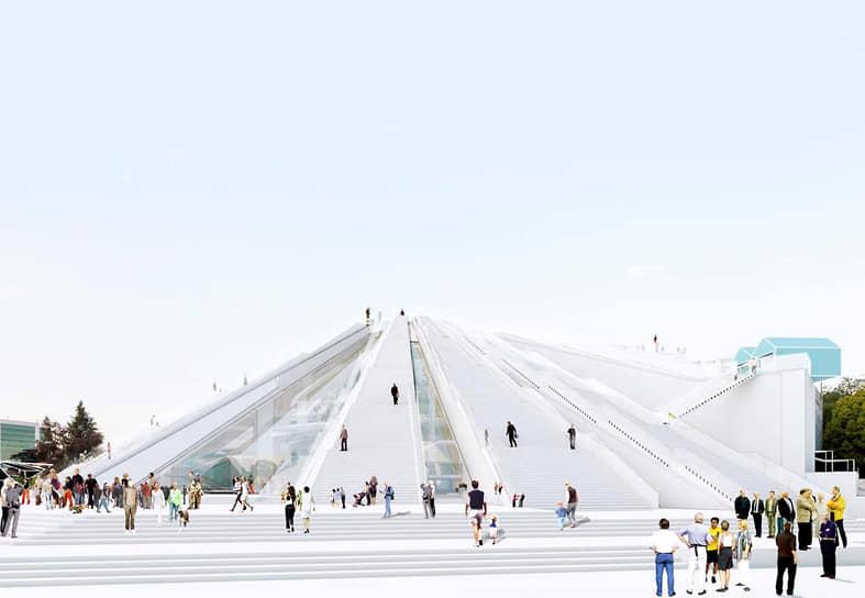 После неоднократных предложений о сносе Пирамиды было решено перестроить здание и открыть в нем центр ИТ-технологий