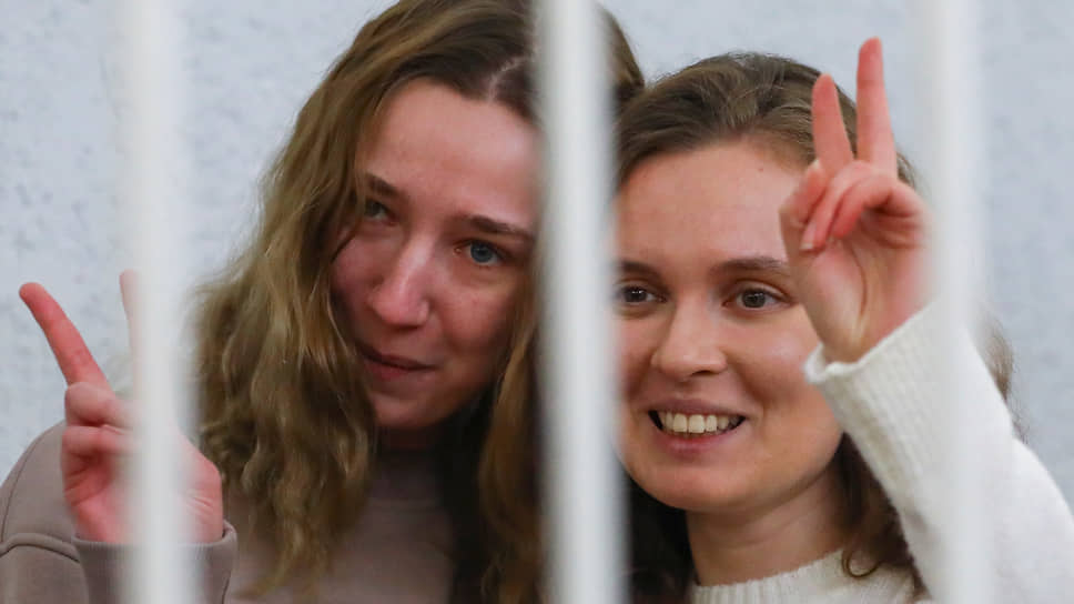 Журналистки Екатерина Андреева и Дарья Чульцова