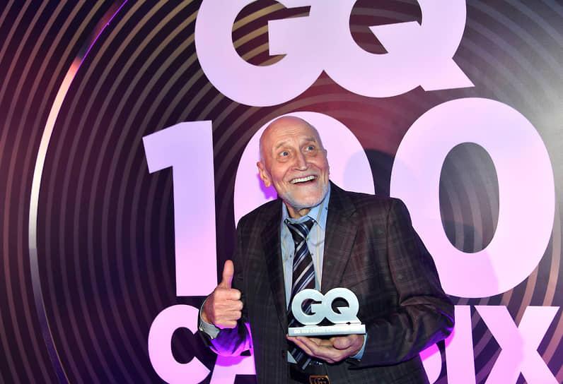 Телеведущий, академик российской Академии телевидения Николай Дроздов на коктейле по случаю выхода ежегодного рейтинга «100 самых стильных» по версии журнала GQ