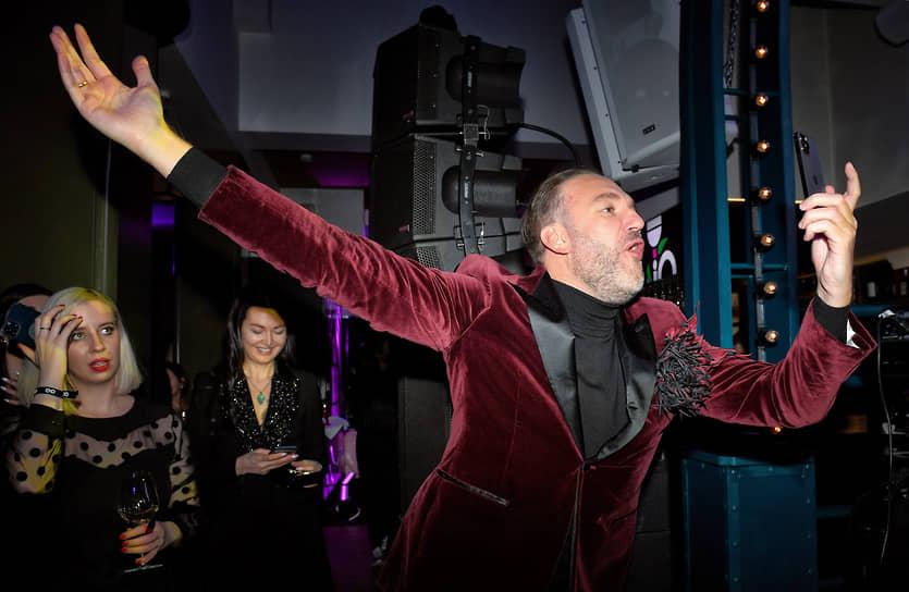 Старший вице-президент, руководитель дирекции частного банковского обслуживания банка ВТБ Дмитрий Брейтенбихер на коктейле по случаю выхода ежегодного рейтинга «100 самых стильных» по версии журнала GQ