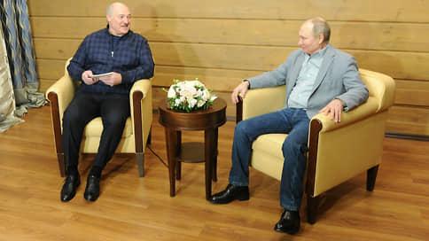 Для Александра Лукашенко накрыли Поляну // Как президента Белоруссии принимал президент России