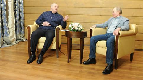 Для Александра Лукашенко накрыли Поляну / Как президента Белоруссии принимал президент России