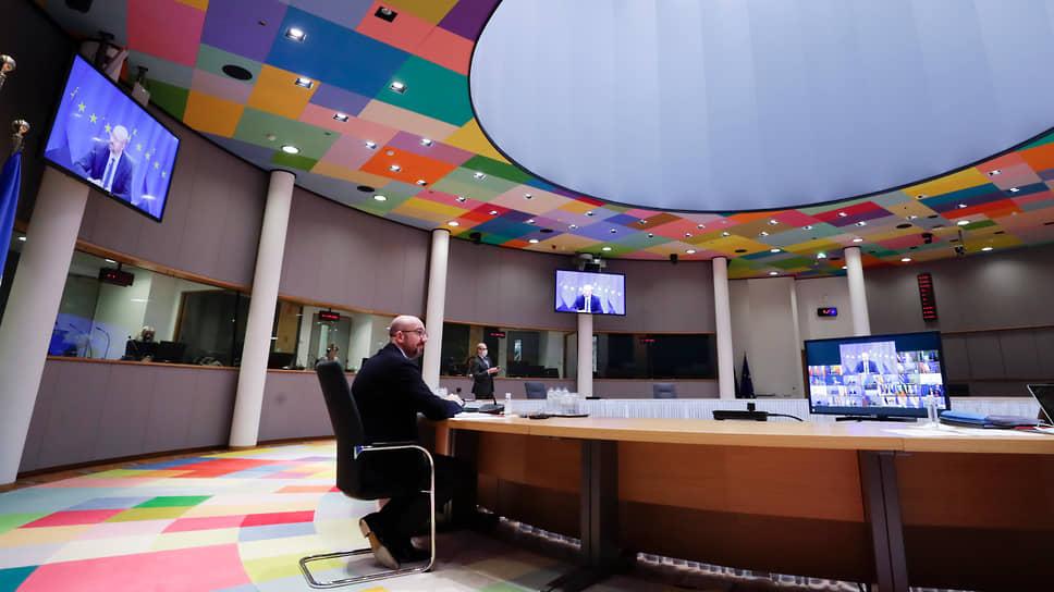 Председатель Европейского совета Шарль Мишель