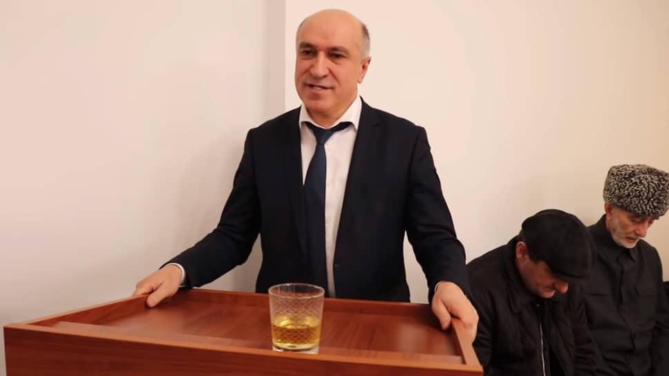 Один из лидеров оппозиционной организации «Всемирный ингушский конгресс» Ахмед Погоров