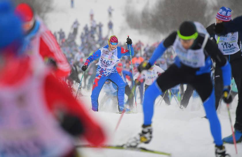 13 февраля. Московская область. Массовая лыжная гонка «Лыжня России-2021»