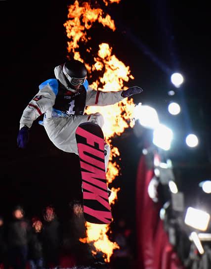 27 февраля. Москва. Этап мирового тура по сноуборду на территории спортивного комплекса «Воробьевы горы»