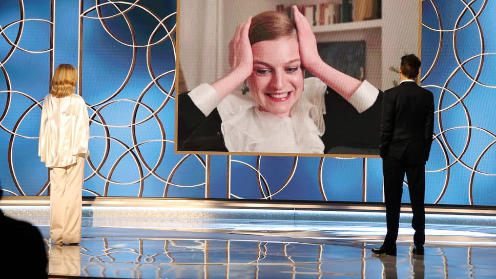 Эмма Коррин, сыгравшая в сериале «Корона», стала лучшей телевизионной актрисой драматического сериала. Награду вручали Кира Седжвик и Кевин Бэкон через видеотрансляцию