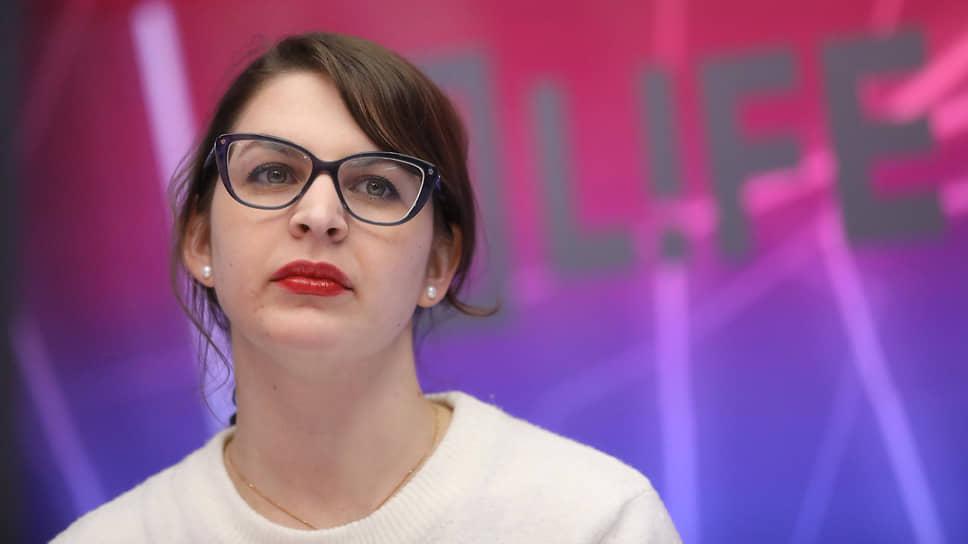 Руководитель проекта «Насилию.нет», кандидат юридических наук Анна Ривина