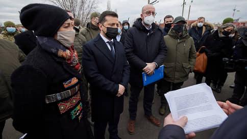 Евросоюз встает на востоке  / Председатель Евросовета Шарль Мишель нашел немало общего у Молдавии, Грузии и Украины