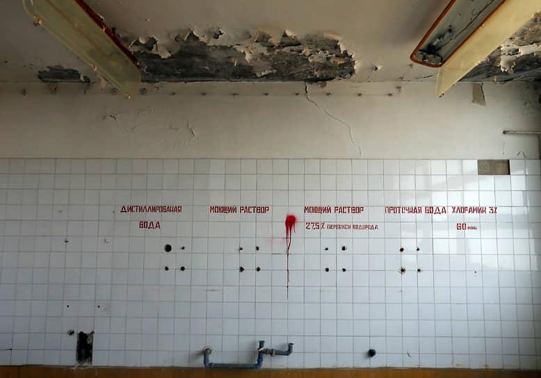 Хирургическое отделение бывшего советского военного госпиталя в Будапеште, заброшенного в 1991 году после вывода советских вооруженных сил из Венгрии