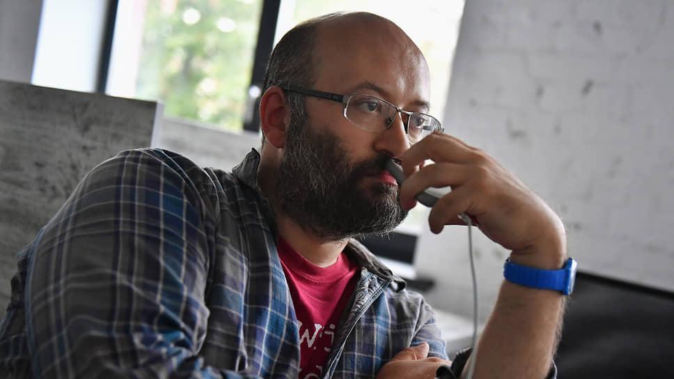 Журналист Илья Азар