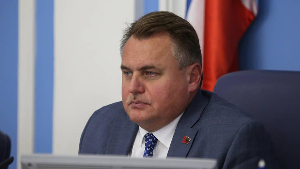 Бывший спикер пермской городской думы Юрий Уткин («Единая Россия»)