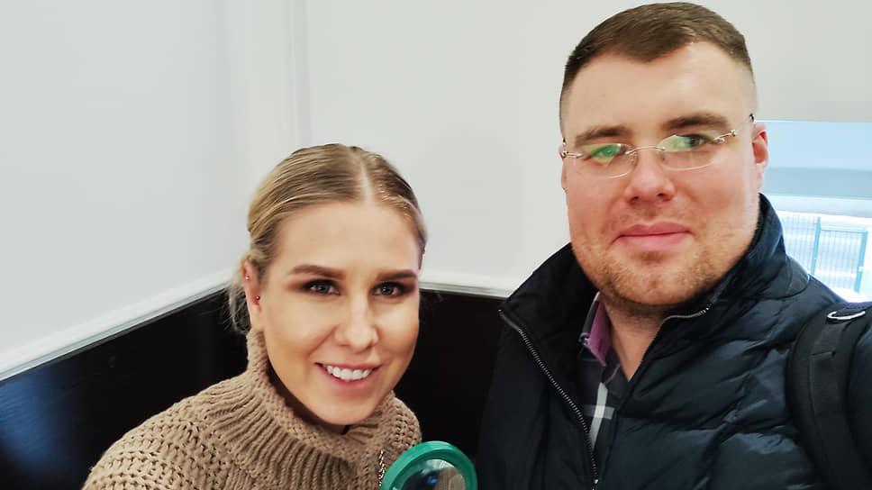 Политик Любовь Соболь и ее адвокат Владимир Воронин