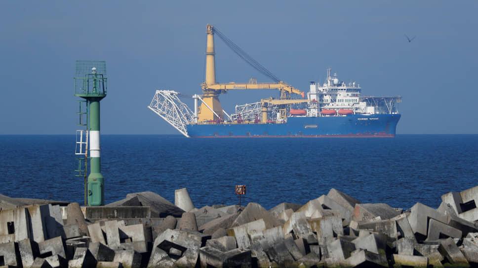 «Северный поток-2» хотят достроить осенью / «Газпром» планирует завершить работы в конце сентября