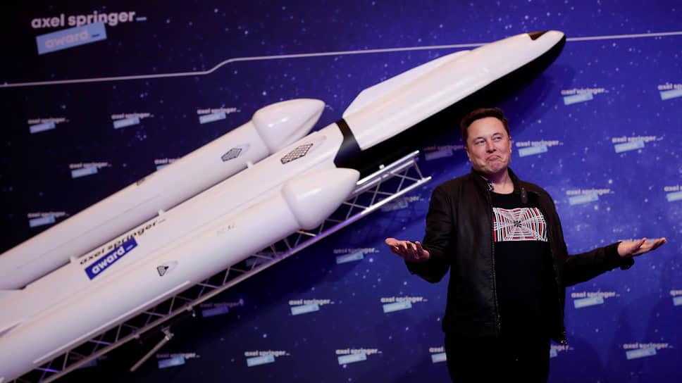 Основатель Tesla и SpaceX Илон Маск