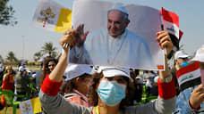 Ирак дождался благословения папы римского  / Понтифик начинает первый в истории визит в эту страну