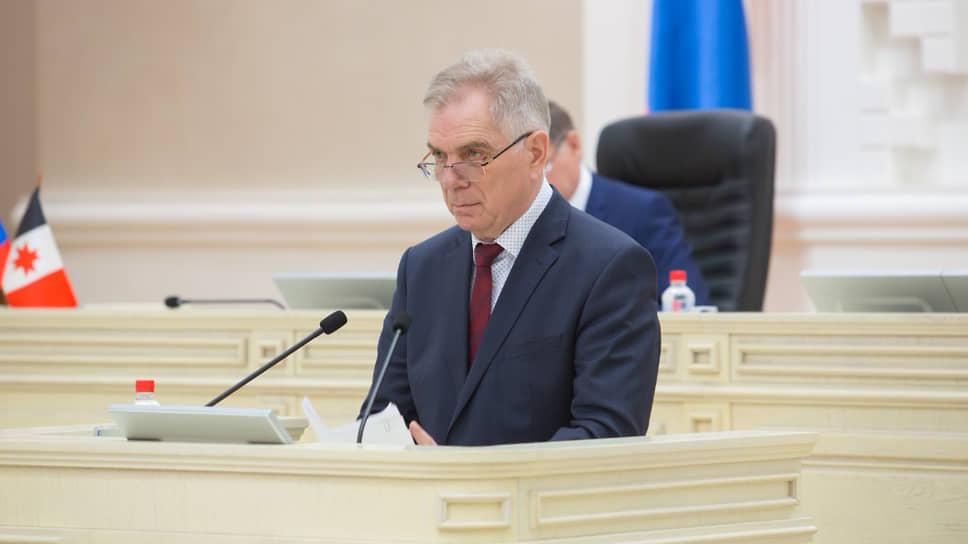 Председатель Государственного контрольного комитета Удмуртии Борис Сарнаев