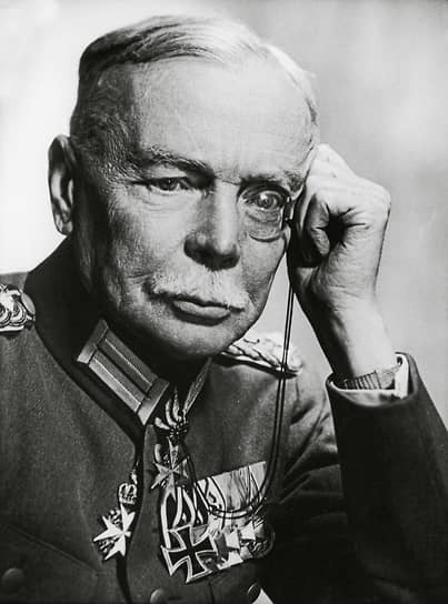 «З.,— писал о генерале Секте (на фото) Копп,— сейчас нет в Берлине, и потому я не могу проконтролировать, насколько это верно»