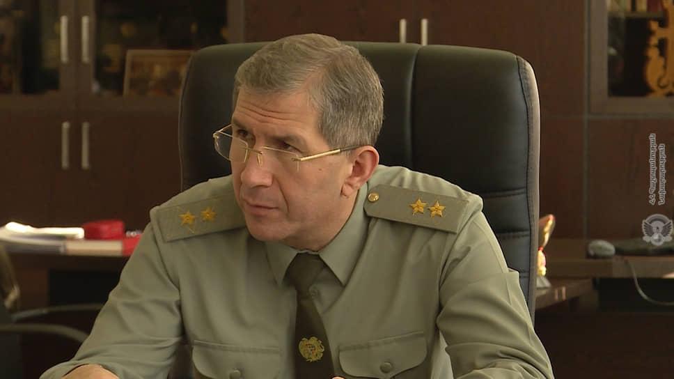 Бывший глава Генштаба Армении Оник Гаспарян