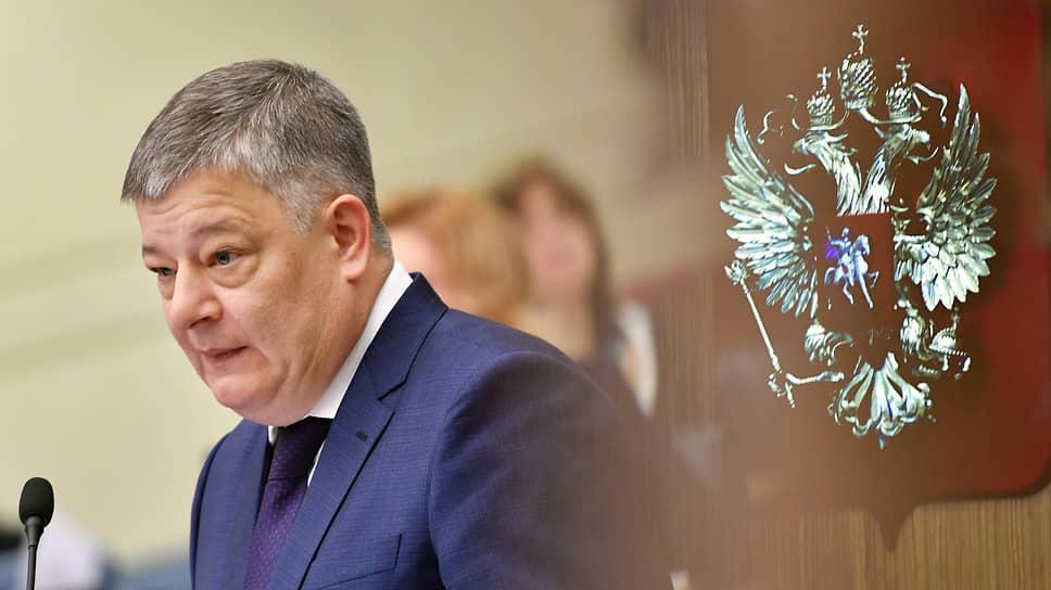 Начальник ГУ МВД России по Москве Олег Баранов