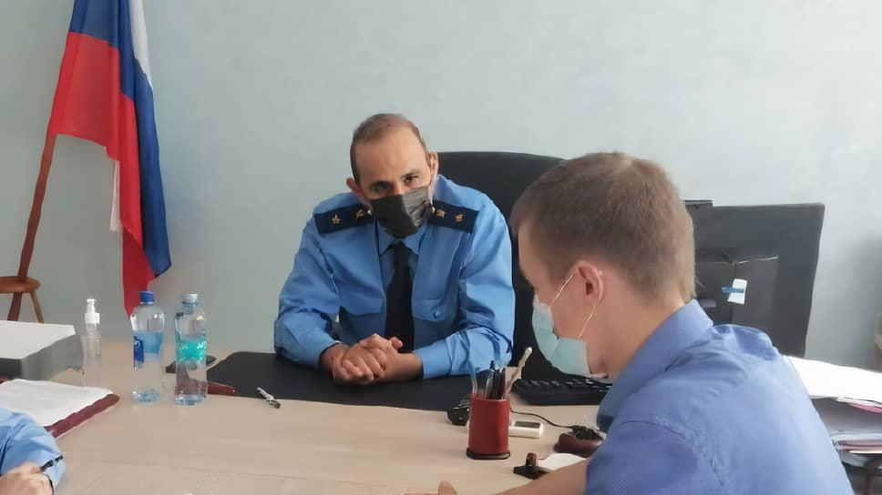 Заместитель прокурора Московской области Семен Якубов