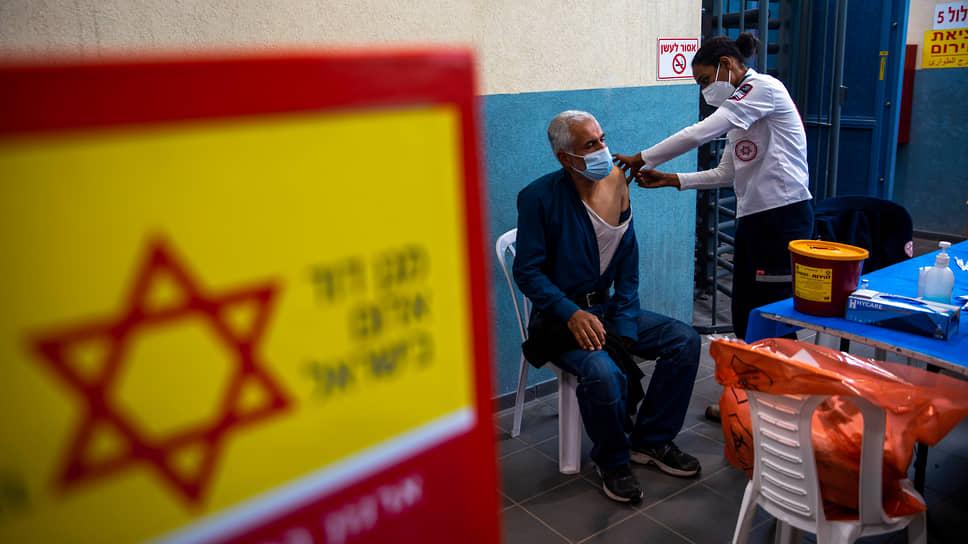 Израиль входит в тройку стран, лидирующих по доле вакцинированного населения