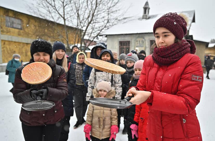 Масленица в музее-заповеднике «Горки Ленинские»